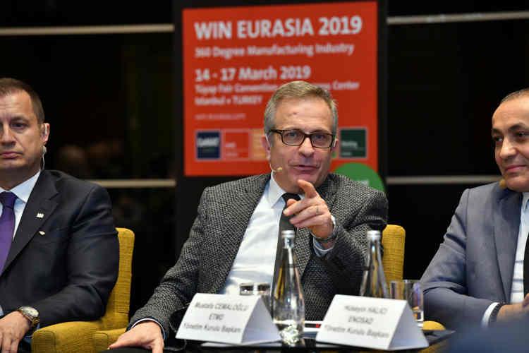 ''WIN Eurasia 2019'' Basın Toplantısından Kareler 20