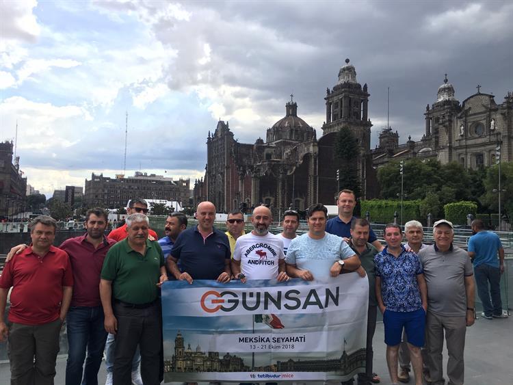 Günsan'ın Başarılı Iş Ortakları Meksika'da Bir Araya Geldi 1