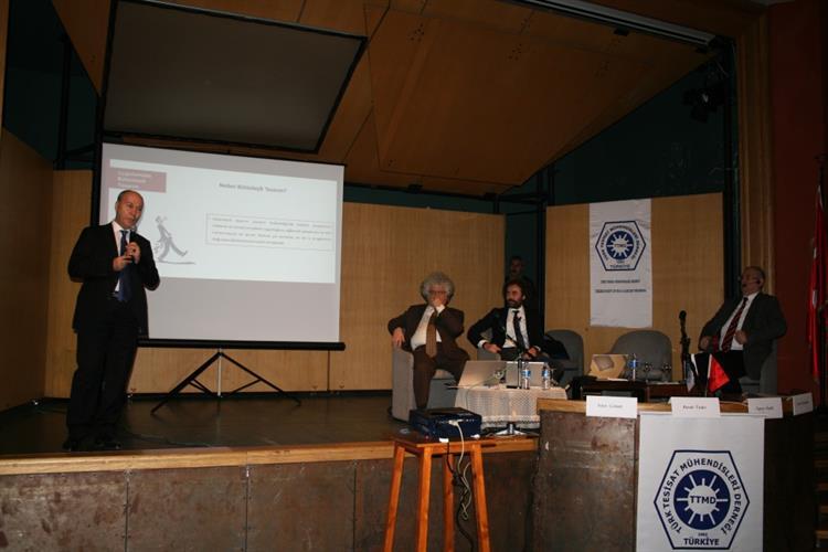 """ETMD Başkanı V. Tuncer ÖZEKLİ, TTMD Tarafından Düzenlenen """"Bütünleşik Tasarım Ve Uygulamacı Beklentileri"""" Paneline Konuşmacı Olarak Katıldı 1"""