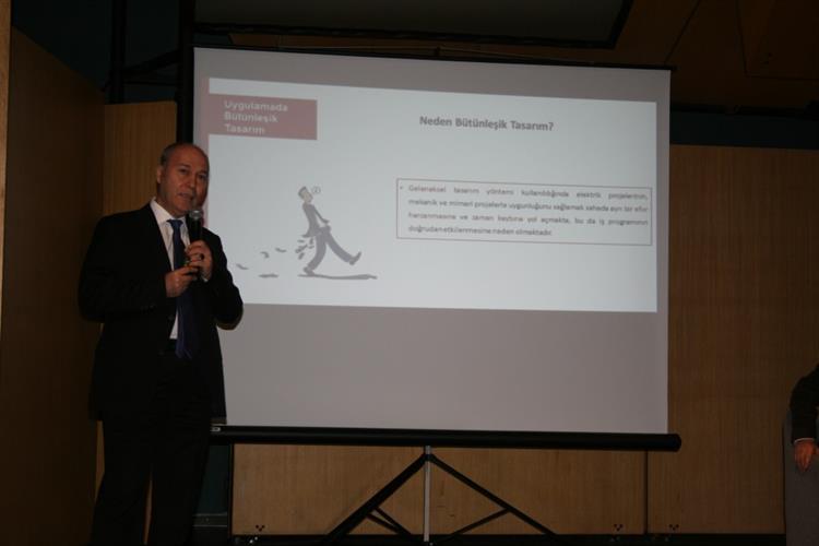 """ETMD Başkanı V. Tuncer ÖZEKLİ, TTMD Tarafından Düzenlenen """"Bütünleşik Tasarım Ve Uygulamacı Beklentileri"""" Paneline Konuşmacı Olarak Katıldı 2"""