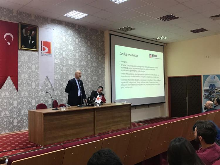 ETMD Derneğimiz Bilecik Şeyh Edebali Üniversitesinde 1