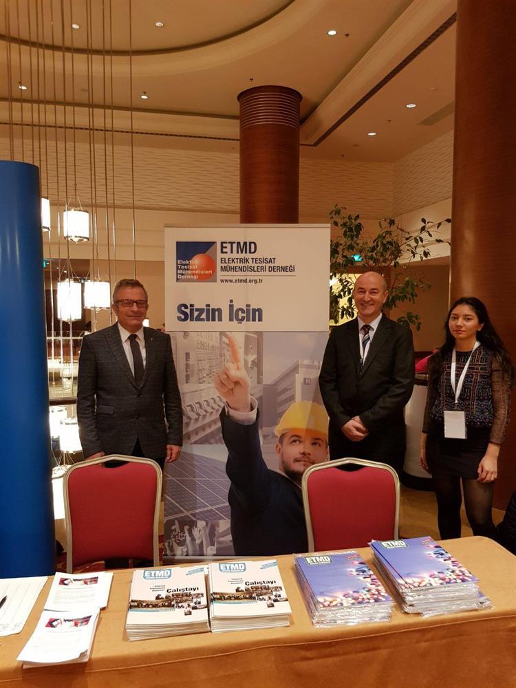 ETMD '' İnşaat ve Konut Konferansı '' na Katıldı 2