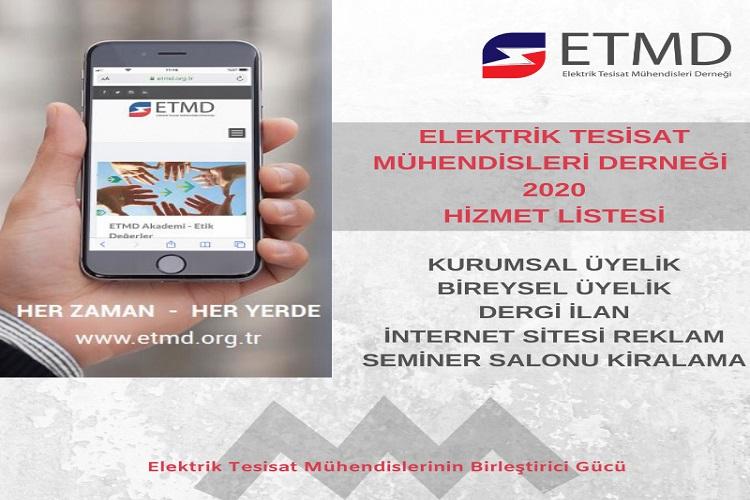 ETMD Hizmet Listesi 1
