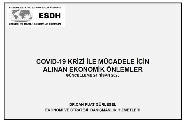 COVID-19 Krizi ile Mücadele için Alınan Ekonomik Önlemler 4