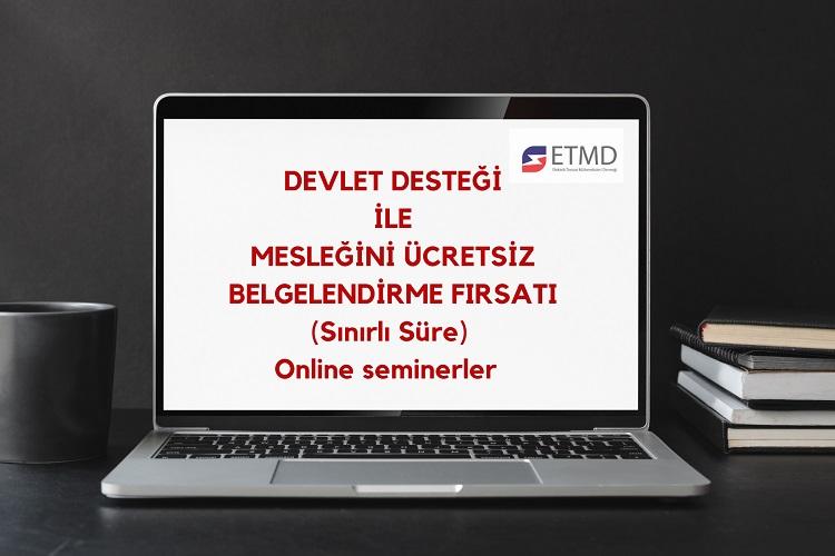 ETMD MYK Sertifika Programı 3