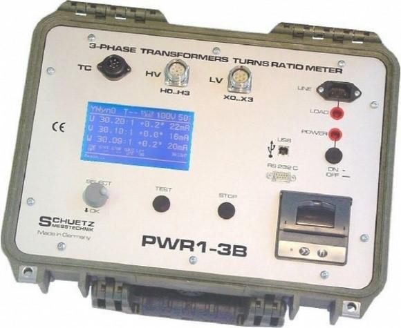 Transformatör Çevirme Oranı - TTR Test Cihazları 5