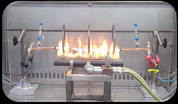 Yangına Dayanıklı Kablo Gruplarına Uygulanan Yangın Performans Testleri 2. Bölüm 5